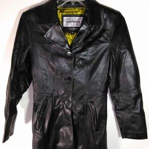 Wilsons leather Pelle Studios jacket women's sz S